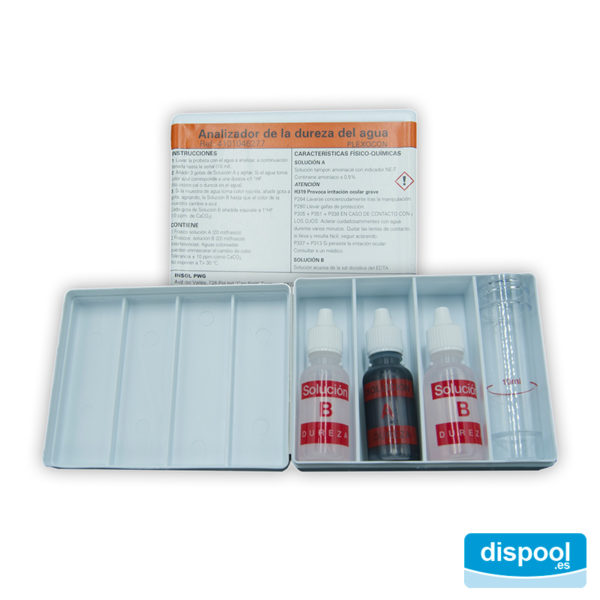 ANALIZADOR DE DUREZA TEST KIT